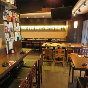 In the open shop, you can also reserve a charter from 35 people ~ Please consult without hesitation ♪