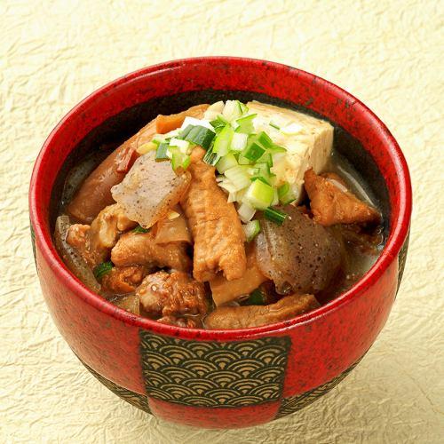 Stewed miso stew