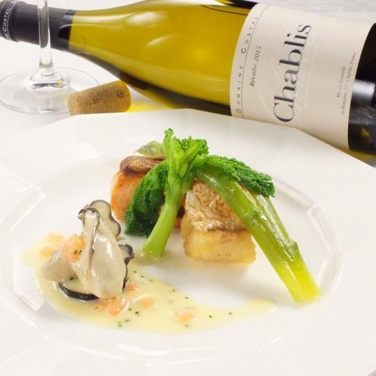 提供適合季節的季節性魚類菜餚。在那個時候享受美味的魚,豐富多彩的安排。