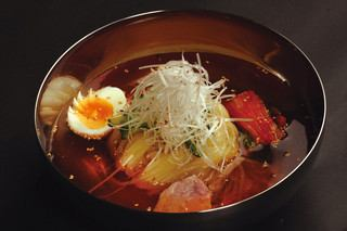 "Hidden prejudice Morioka cold noodles.The charm is ""noodles"" ""soup"", ""homemade kimchi"" anyway.Soup is made from 1, the best soup produced from day to day is cold noodle life.Taste not to be eaten elsewhere!"
