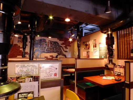 If you can make a reservation even if you can book from 30 people OK! You and your friends can enjoy delicious hot-grilled meat at our welcome party and farewell party! We can also use it for other purposes such as alumni association, social gathering, social gathering etc. shop.A convenient set of 1,350 yen ~ !! We can also use on charter so please do not hesitate to contact us ☆