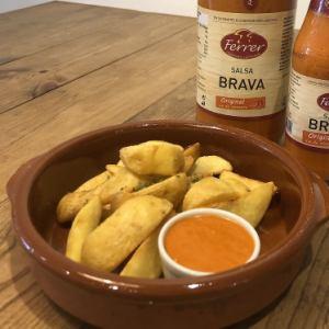 スペイン風ポテトフライ「パタタス・ブラバス」