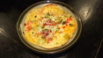 바삭 바삭한 피자