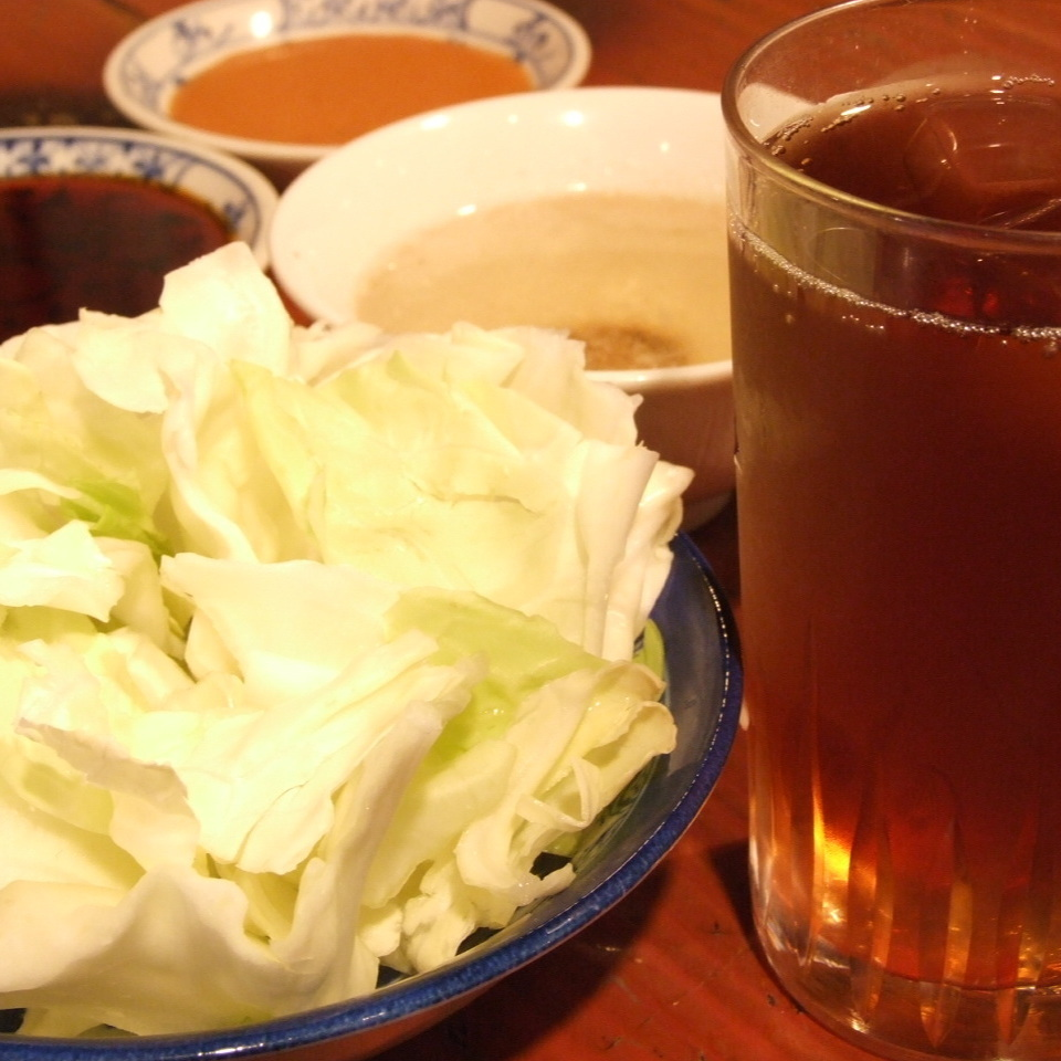Oolong tea & cabbage free