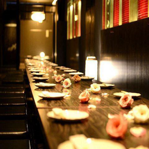 On weekdays all course drinks are available for an hour and a half ♪ Private banquet, welcome ★