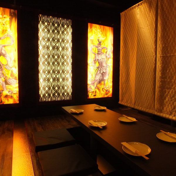 Up to 40 people OK ◎ Gorgeous tatami private room wind space! Drinking course is from 2980 yen ~