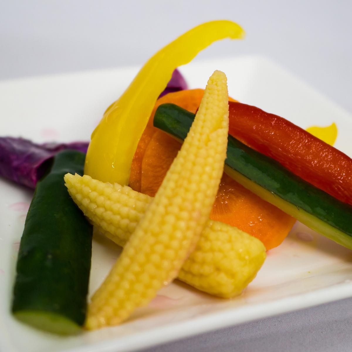 新鮮野菜のピクルス