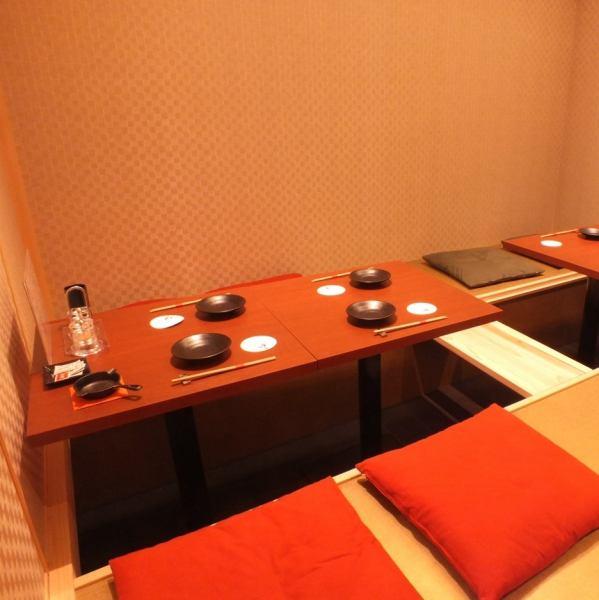 最多15位客人OK!私人房间限4人/ 6人Taku x 2 /私人房间可供4人或以上。如果您使用4人或更少,请不要犹豫与我们联系。