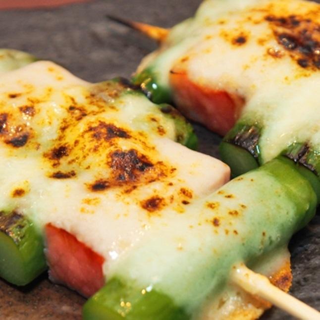 Asparagus Bacon Cheese