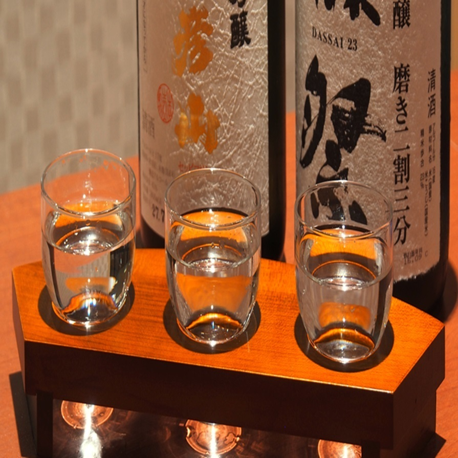 The supremely large net rice Daiginjo 3 varieties drinking compared 2800 yen [excluded]