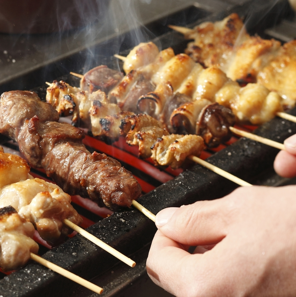 """【Amber pride!】 Wall Thick! Variety of skewers of """"Jeonju old-fashioned chicken"""""""