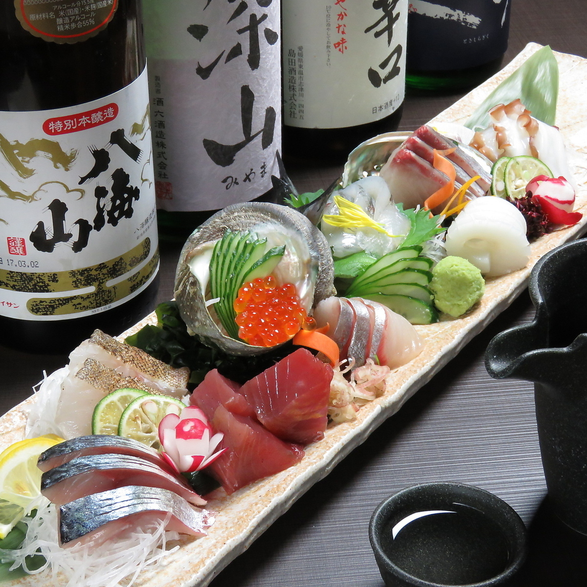 Not much profit · · · Build up sashimi (7 kinds · 2 ~ 3 servings)