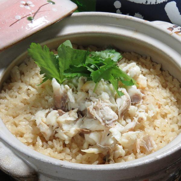 日本一美味しい!天然鯛タイめし(土鍋)