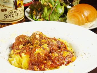 Bolognese of Meatballs