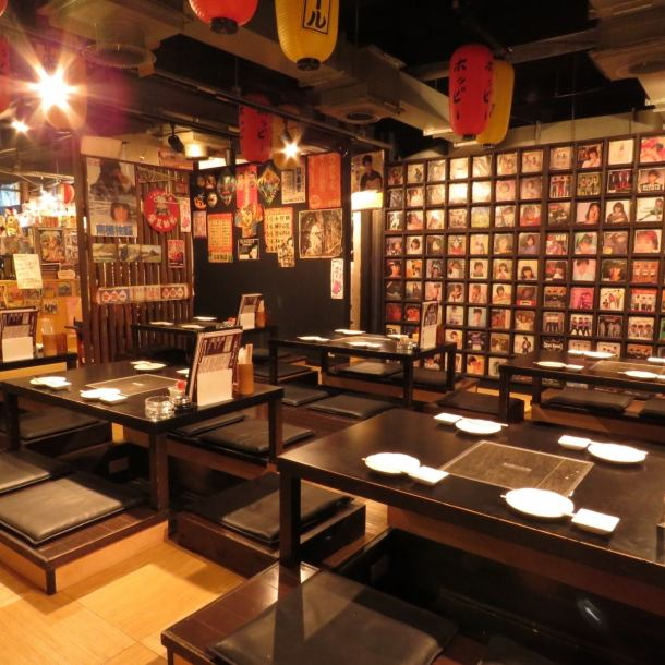 Showa retro atmosphere inside the restaurant is exactly a different space.A lot of items displayed on one side of the store are masterpieces.How about a little time slip surrounded by nostalgic posters and items?