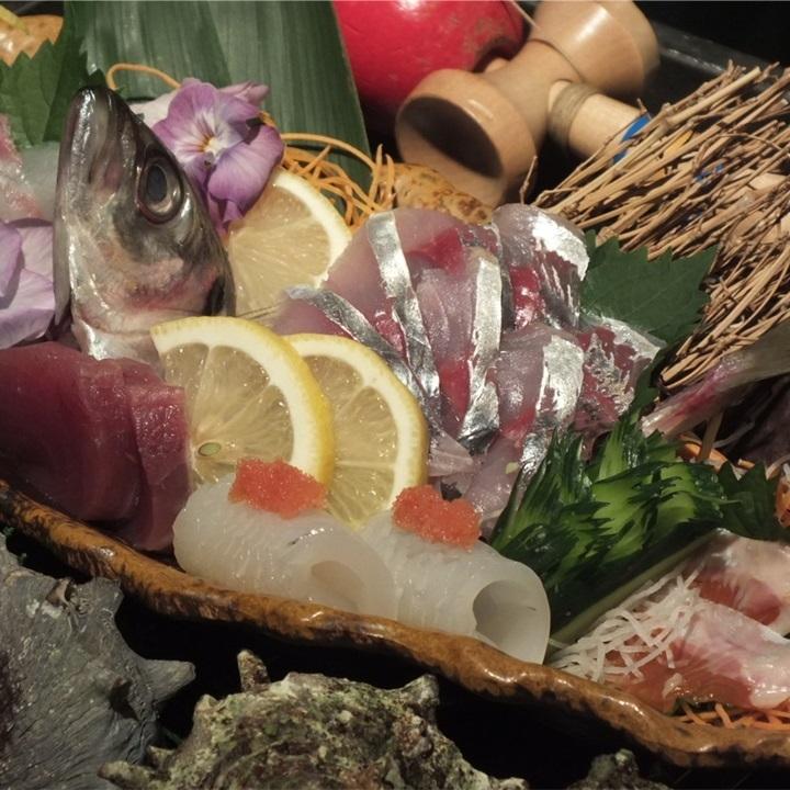 各种生鱼片