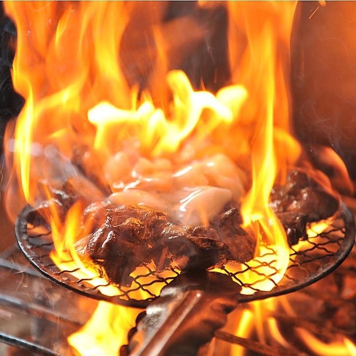 薩摩赤鶏炭火焼
