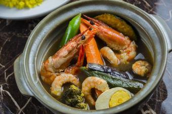 Puripuri咖喱虾
