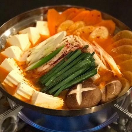 kimchi hot pot