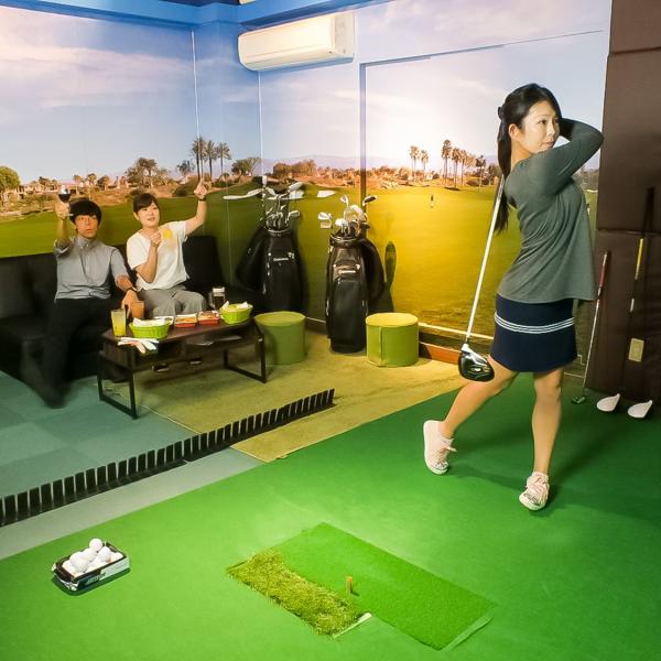 映像も音もリアルなゴルフ場の雰囲気を再現!一度プレイすればハマる!