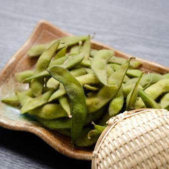 ふっくら塩茹で枝豆