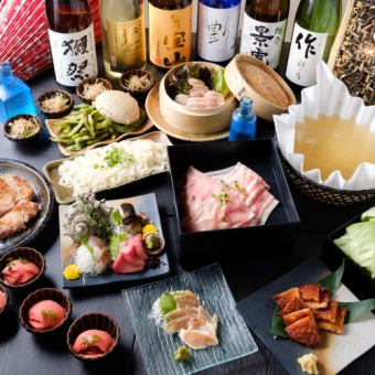 Flower course - Hana - \ Includes all-you-can-drink choice for 2 to 3 hours slowly! / 11 gorgeous gourmet dishes ⇒ 5000 yen