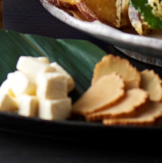 크림 치즈와 燻り 갓코