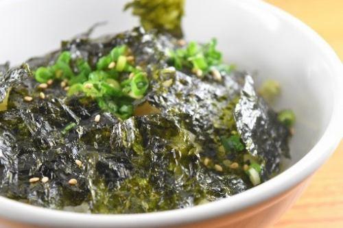 海苔のりご飯(タレ味)