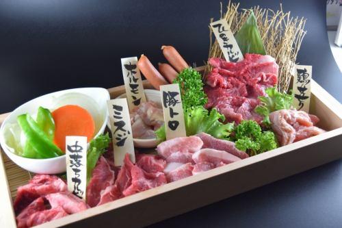 人気のお肉がひとまとめ! ひのきセット(500g・3~4名様分)