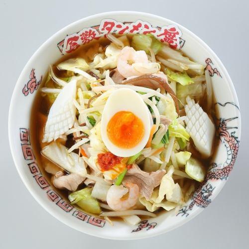 """素材・製法にとことんこだわり、職人が""""一麺入魂""""で作った「倉敷タンメン【醤油・塩】」"""