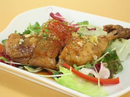 磐井地鶏の油淋鶏