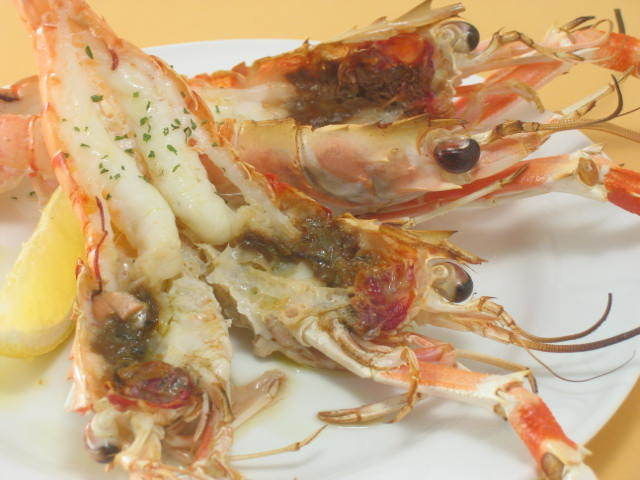 Scampi虾烤(2)