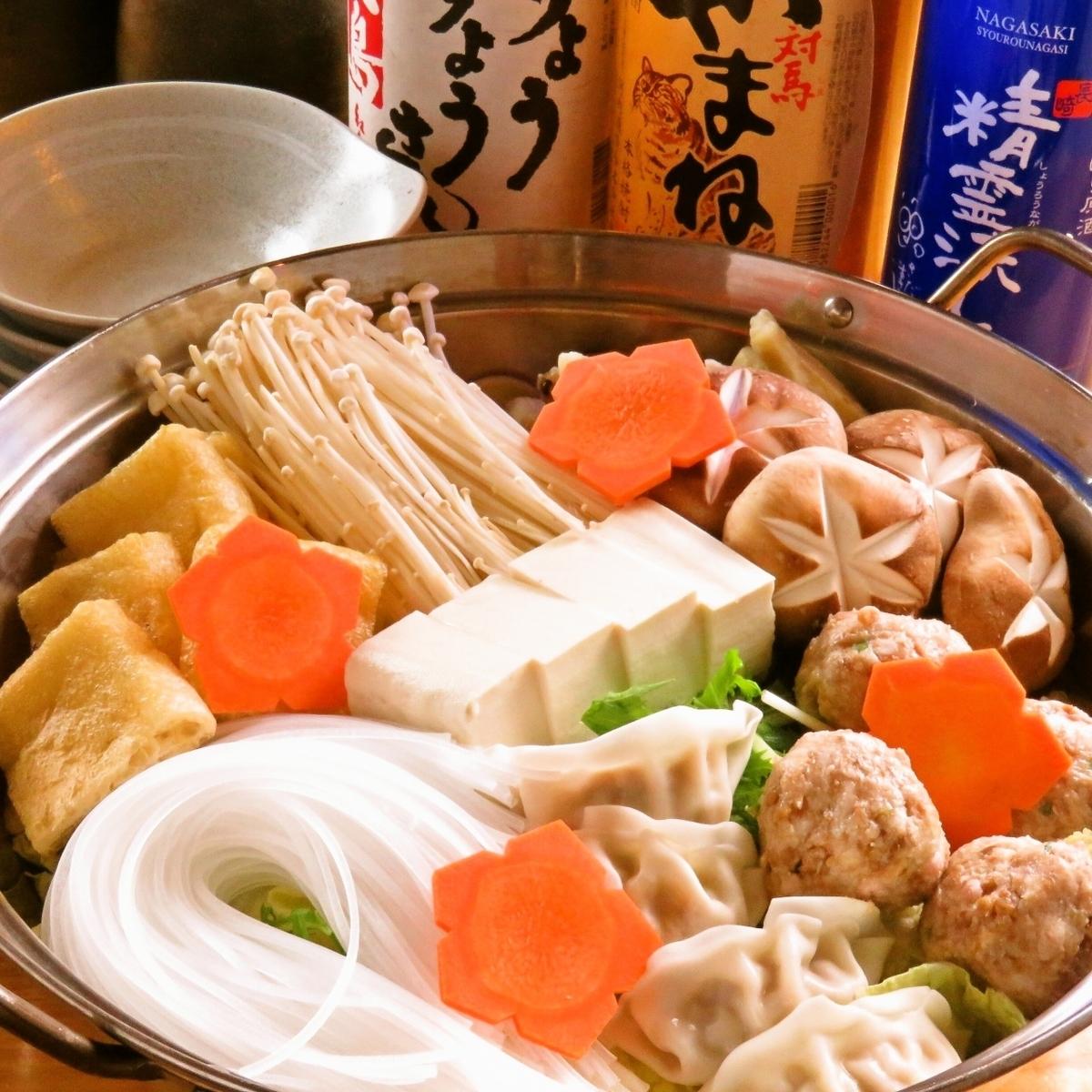 Nagasaki specialties soy saucepan ♪