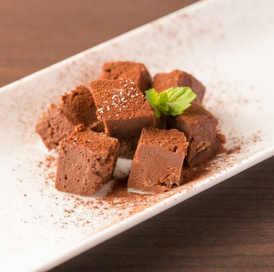 Homemade raw chocolate