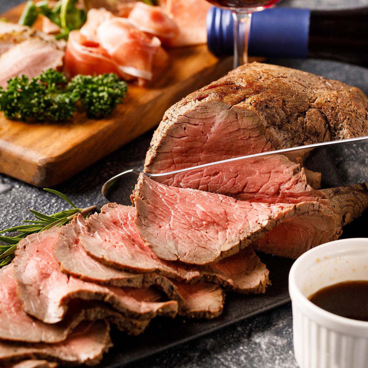 自製烤牛肉