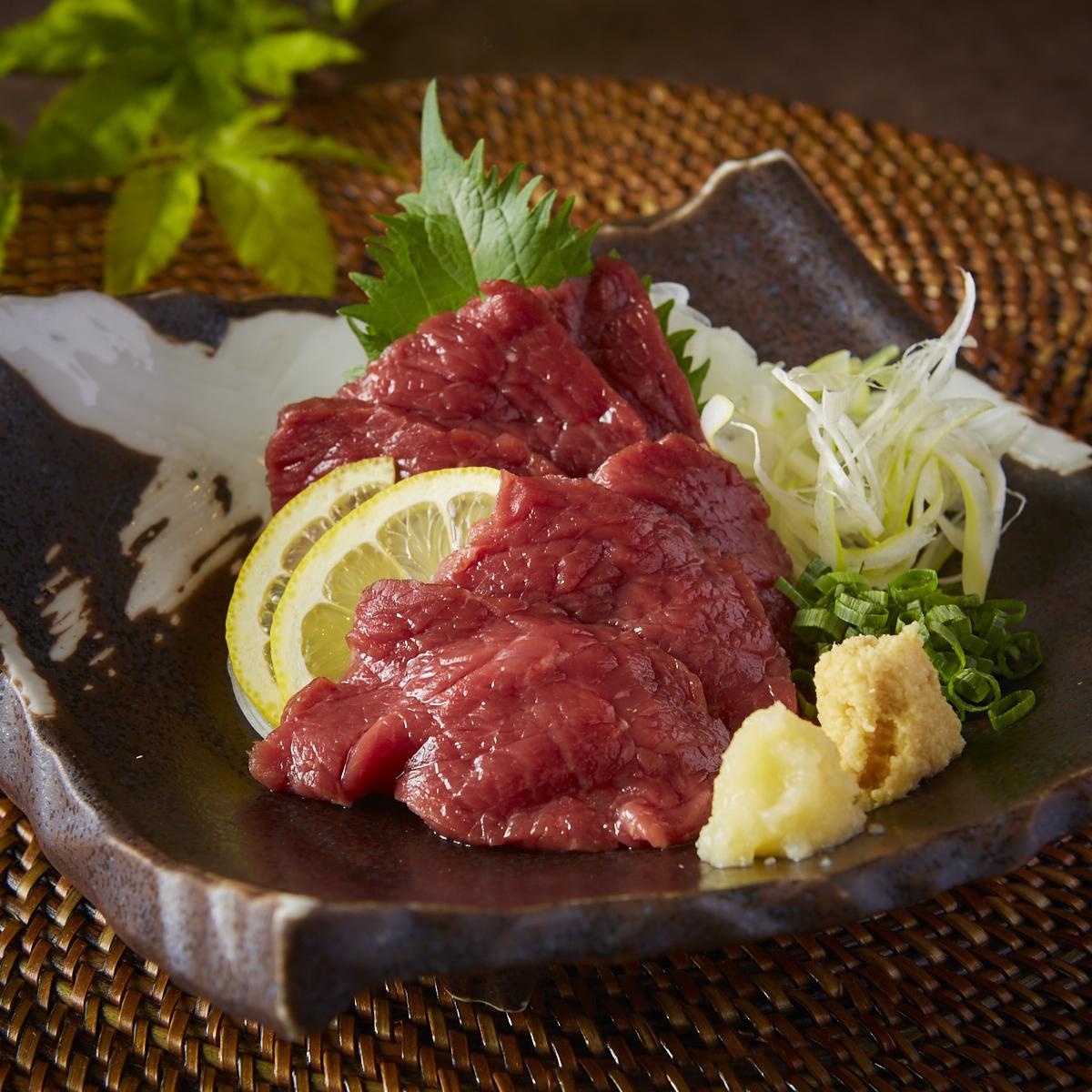 Sakura meat red meat