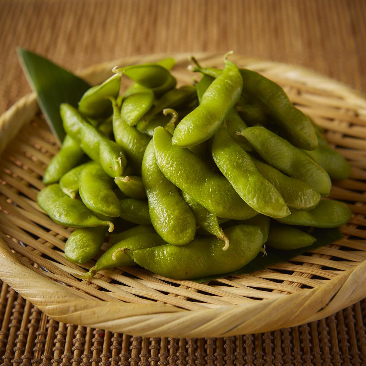 さっぱり塩味枝豆