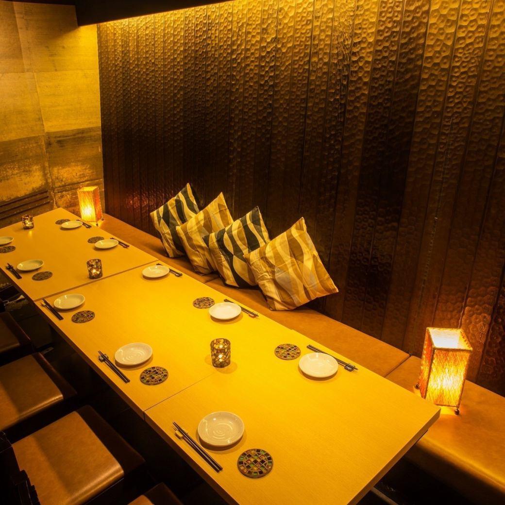 【ご宴会】ピッタリなコース色々♪2~12名用個室も利用できます!