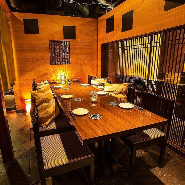 有名デザイナー監修のStylish空間★オシャレ個室は誕生日会・女子会・合コン・飲み会などどんなシーンでもハマる!