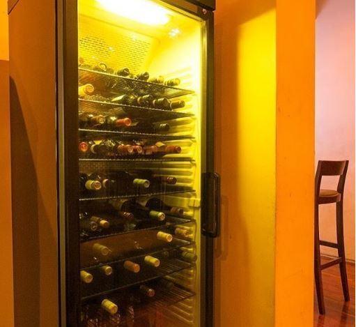 160 bottles of wine cellar