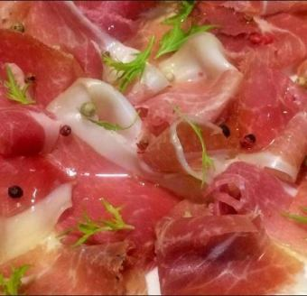 【Weekday only】 Palma Production Ham 60 mins all-you-can-eat plan! 500 Yen / 1 person