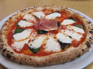 Margherita of plentiful cheese