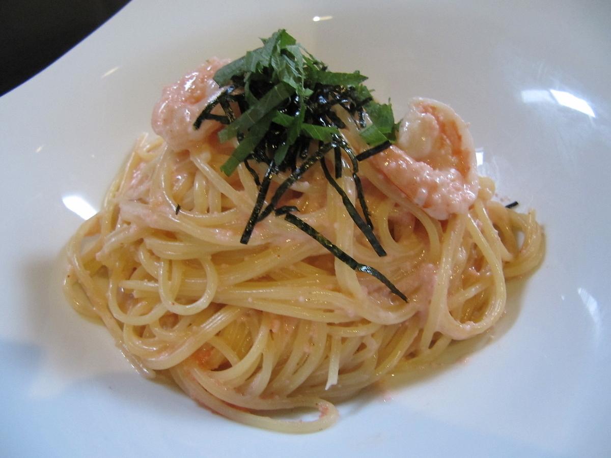 Mentaiko's cream pasta