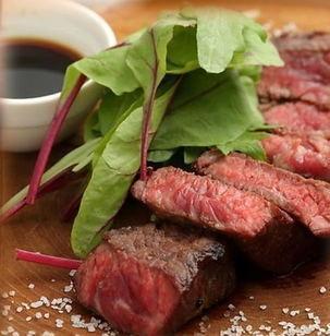 Stone kiln Bincho charcoal roast steak