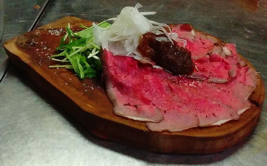 Roast beef (slices)