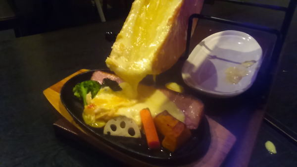 New! 【Racette Plate Girls Association Lunch Course】 With vegetable diet at Bagna or cheese fondue