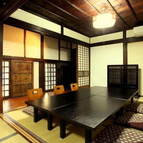 It is recommended for relaxing banquet / lunch meeting etc in family.It is a completely separate room, so you can relax without worrying about the surroundings.