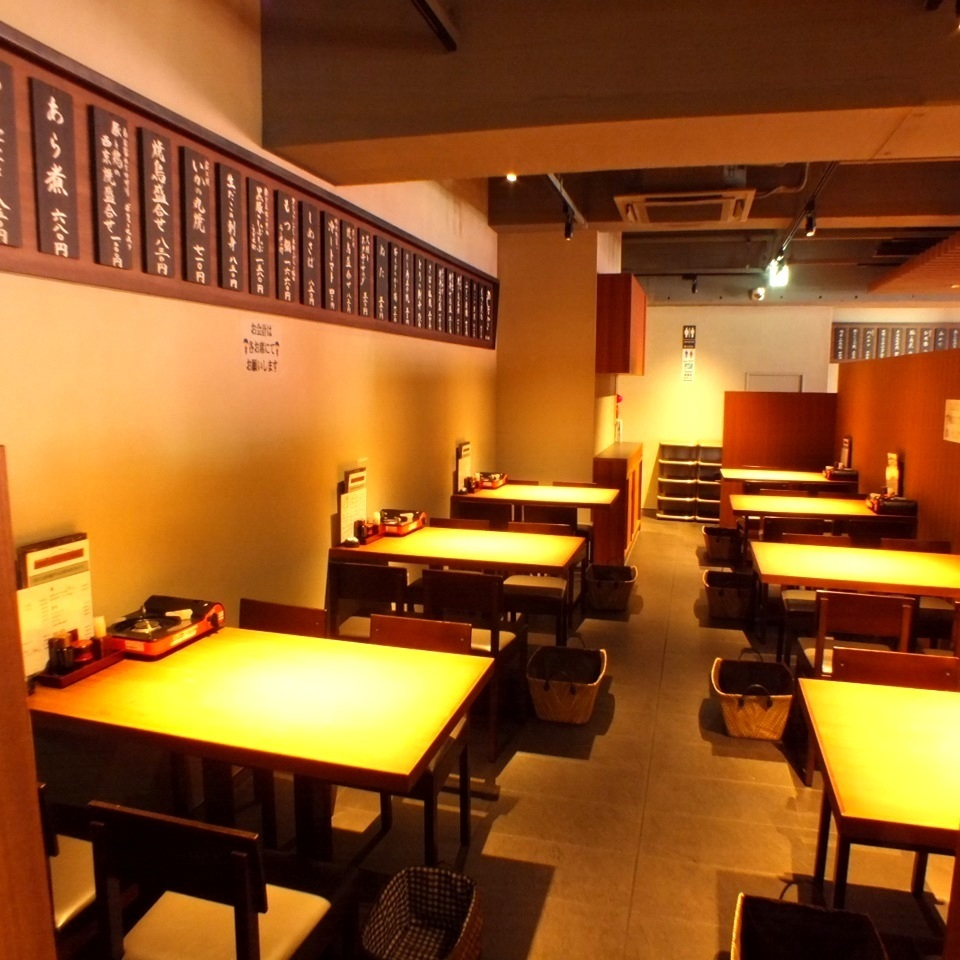 【2nd table seats】 Up to 80 people OK ★ In a calm space, ♪ forget the everyday ♪ at a wild pub in a large banquet ♪ This room for a large family ♪ 3 H perfect for drinks I recommend you to have an all-you-can-eat course of 5500 yen ♪