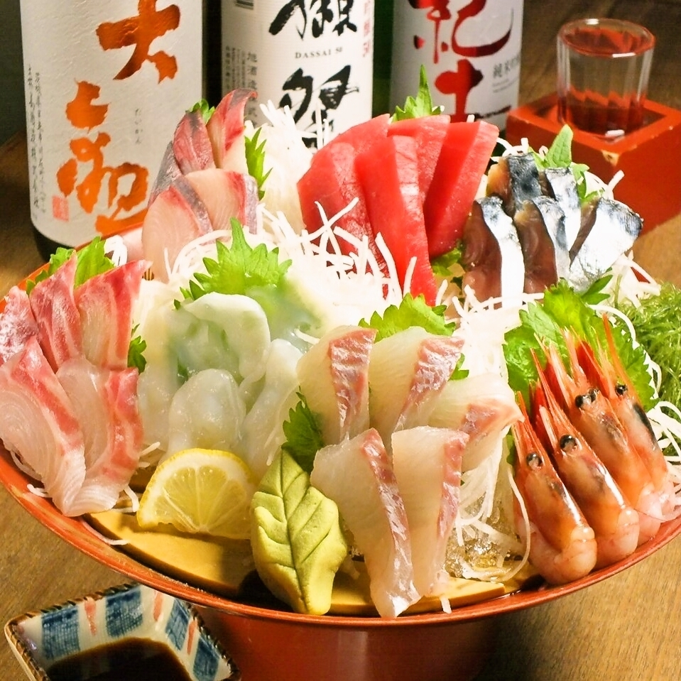 Leave it to you, 3 sashimi with sashimi / 7 servings