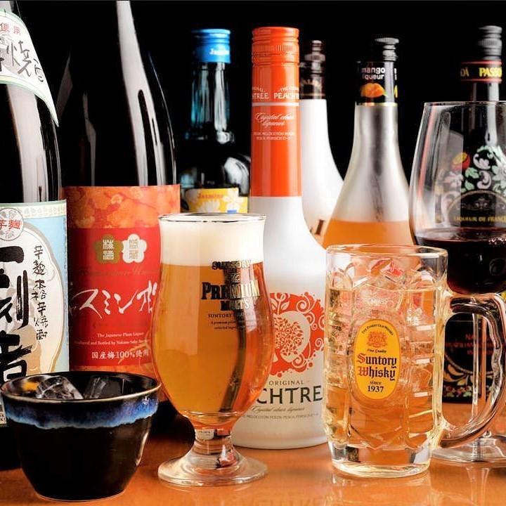 Yakiniku有各种各样的饮料!